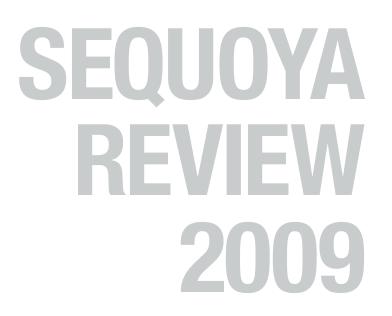 Sequoya Review 2009